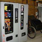 Vending Machine with Snacks and Cold Drinks